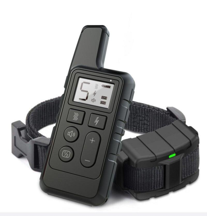 Электроошейник для собак дрессировочный Pet DTC-500 водонепроницаемый до 500 м Черный (100614)