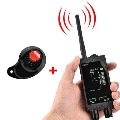 Детектор жучков и скрытых камер Protect M-8000 Черный (100629)