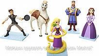 Игровой набор из 5 фигурок: Рапунцель, Флин Райдер, Король с Королевой и конь Максимус - Tangled, Jakks