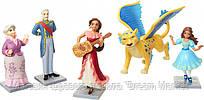 Игровой набор из 5 фигурок: принцессы Елена и Изабель, Скайлар, герцог Эстебан, бабушка Луиза - Elena of