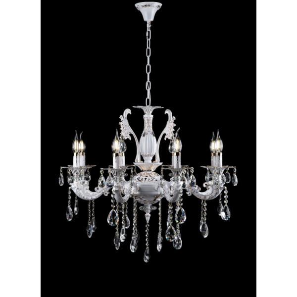 Люстра светильник в классическом стиле с хрустальными подвесками Splendid-Ray 30-3925-99