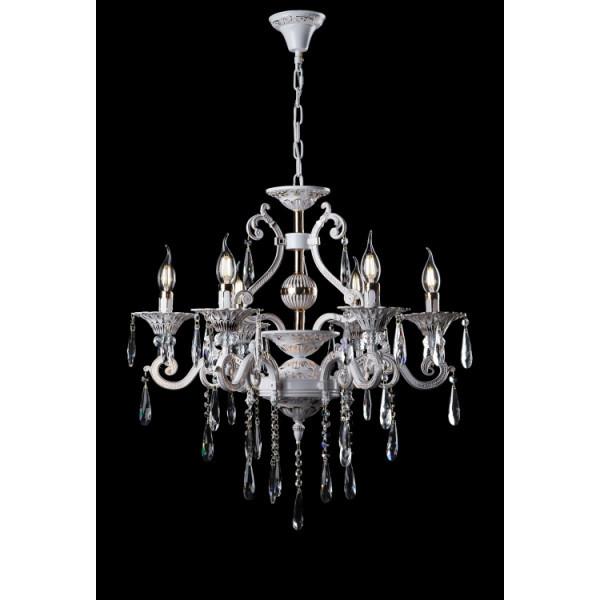 Люстра светильник классическая с хрустальными подвесками Splendid-Ray 30-3927-11