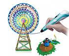3D-ручка для рисования с LCD дисплеем Smart 3D pen-2 розовая, 3Д-ручка с экраном второго поколения, фото 8
