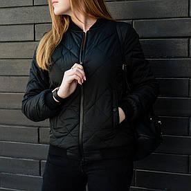 Весенняя женская куртка Стеганка