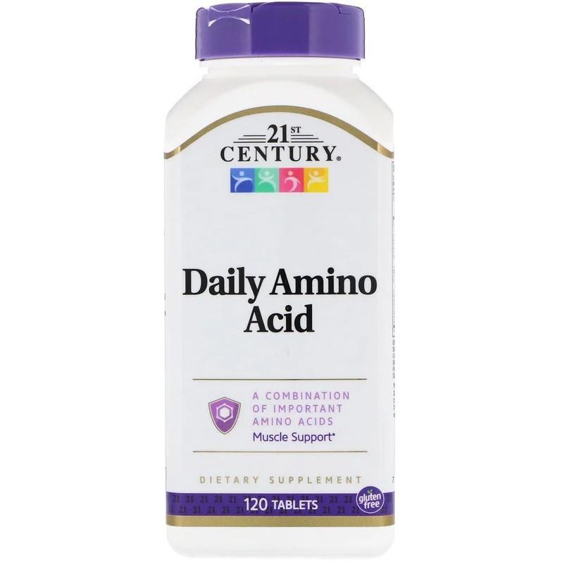 Аминокислоты 21st Century Daily Amino Acid (120 таблеток.)
