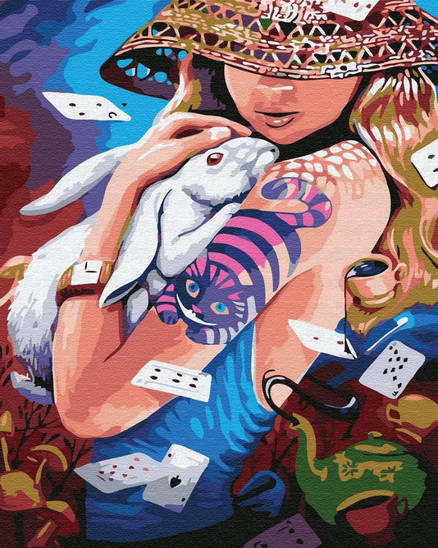 Картина по номерам GX26788 Алиса XXI века 40х50см. Brushme