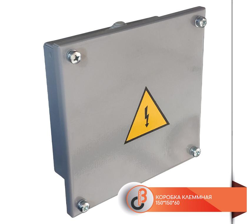 Клеммная коробка металлическая 150х150х60 KKR-M-02