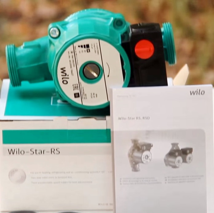 Циркуляционный насос Wilo Star-RS 25/4 180 мм