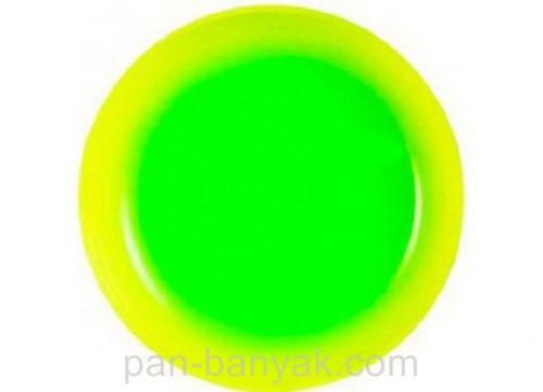 Тарелка обеденная Luminarc Fizz mint круглая без борта d25 см ударопрочное стекло (9550G)