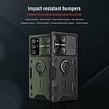 Nillkin Samsung Galaxy Note 20 Ultra CamShield Armor Case Green Чехол Накладка Бампер, фото 4