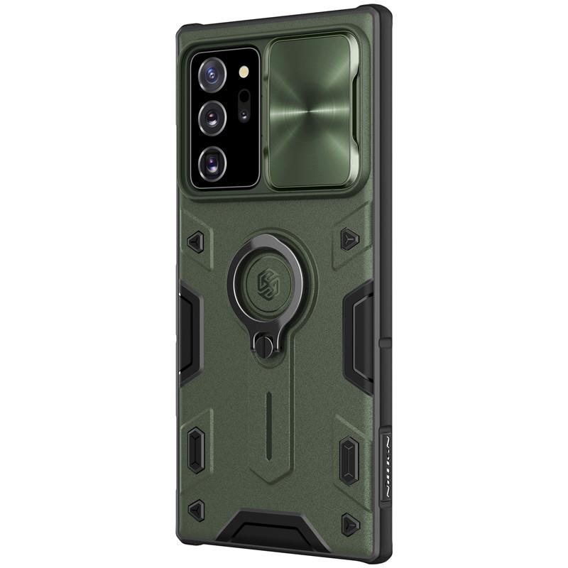 Nillkin Samsung Galaxy Note 20 Ultra CamShield Armor Case Green Чехол Накладка Бампер