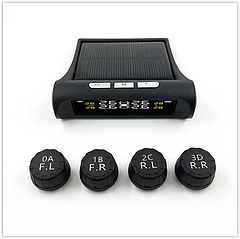 Система контроля давления и температуры в шинах TPMS, внешние датчики