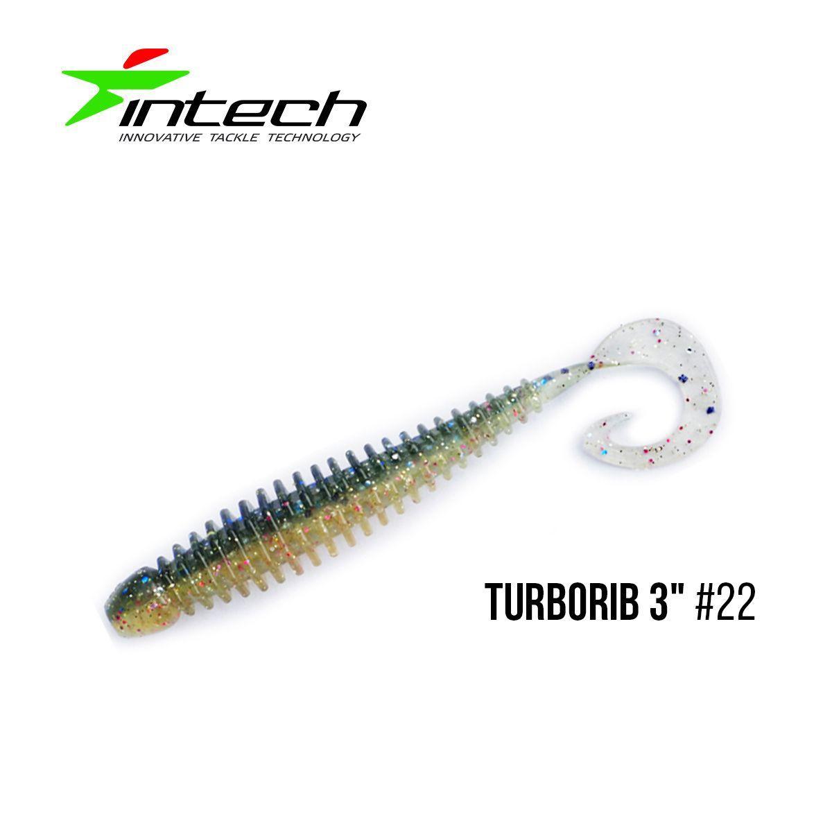 "Приманка Intech Turborib 3""(7 шт) (#22)"