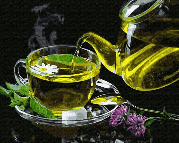 Картина по номерам GX35221 Травяной чай 40х50см. Brushme, фото 2