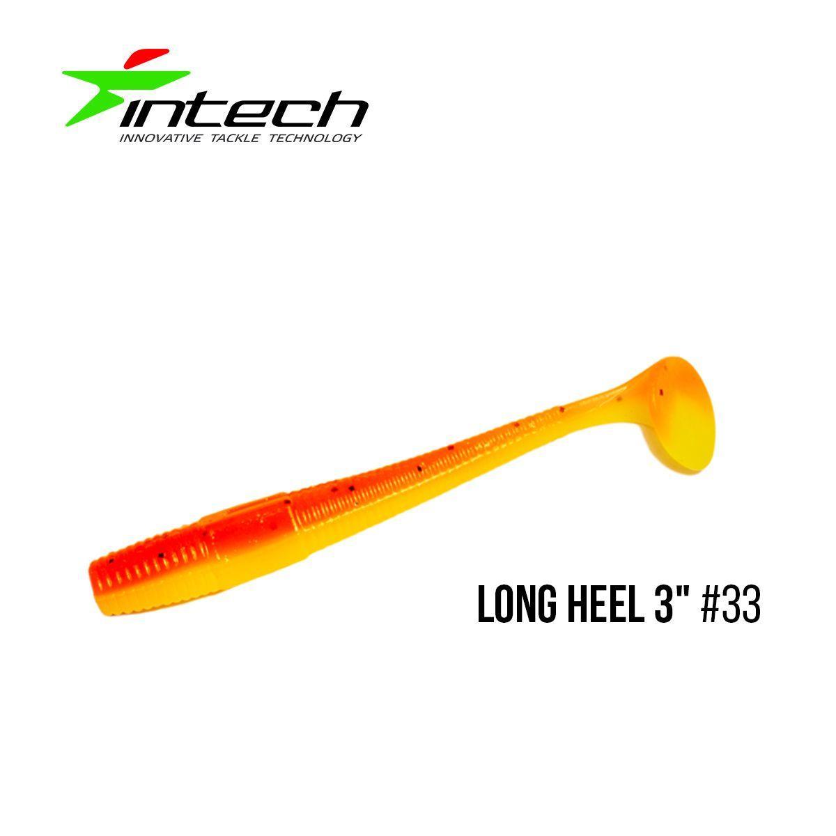 """"""".Приманка Intech Long Heel 3 """"(8 шт) (#33)"""
