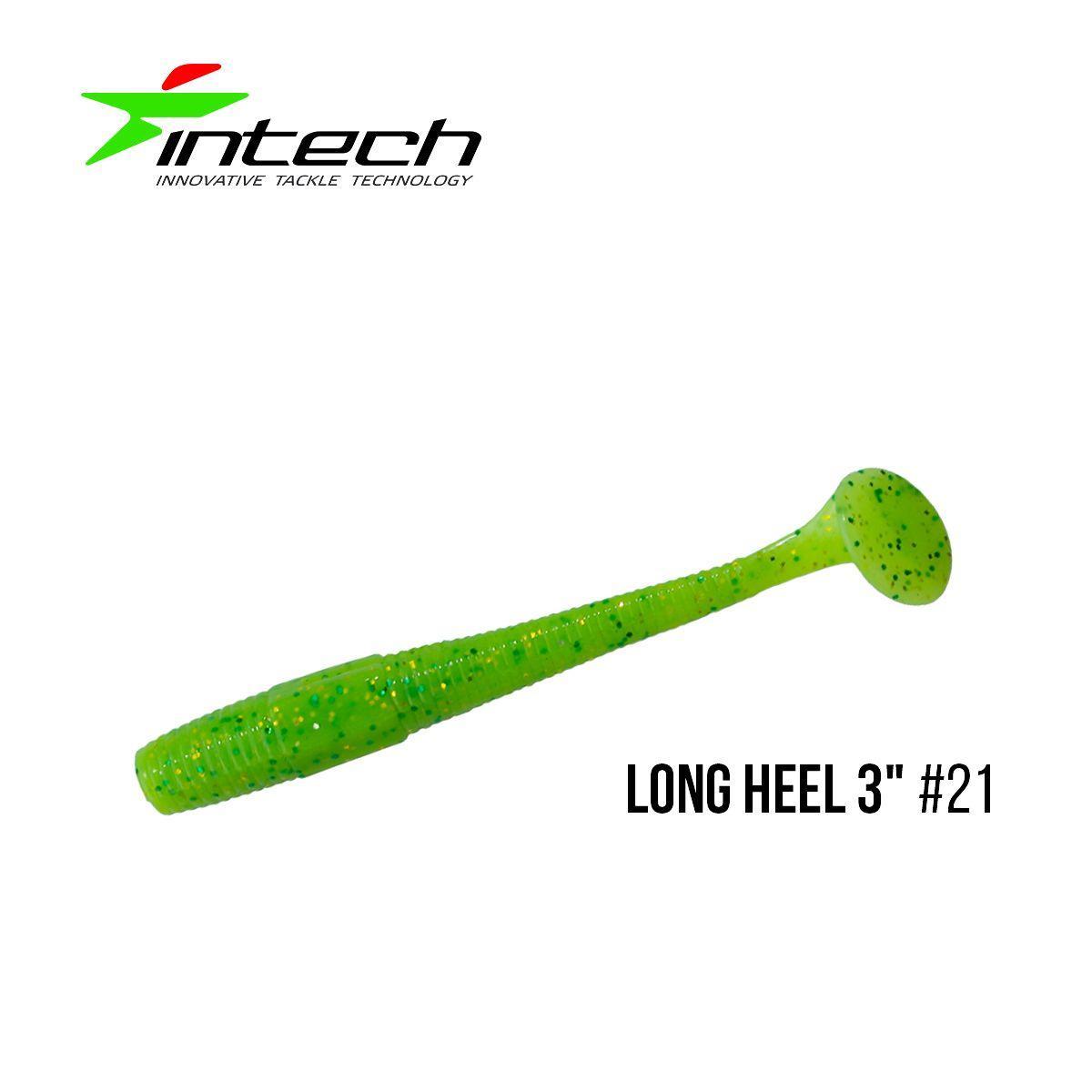 """"""".Приманка Intech Long Heel 3 """"(8 шт) (#21)"""