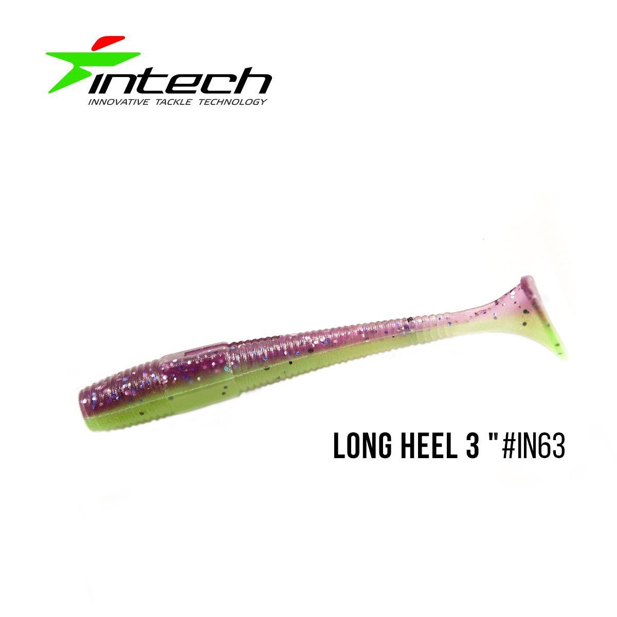 """.Приманка Intech Long Heel 3 ""(8 шт) (IN63)"