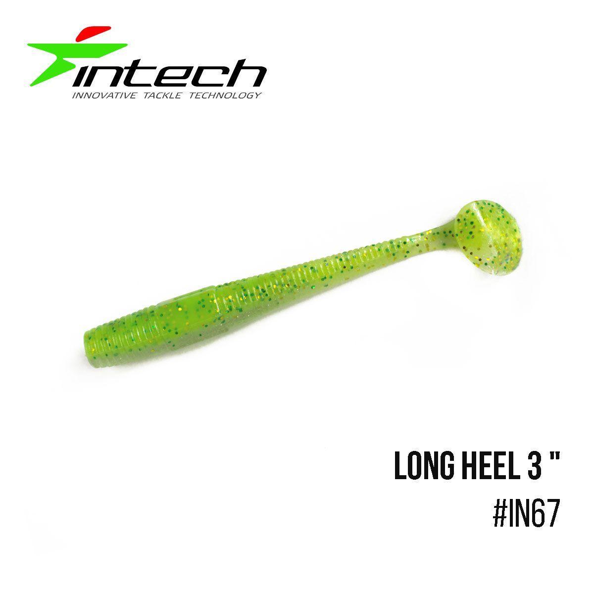 """.Приманка Intech Long Heel 3 ""(8 шт) (IN67)"