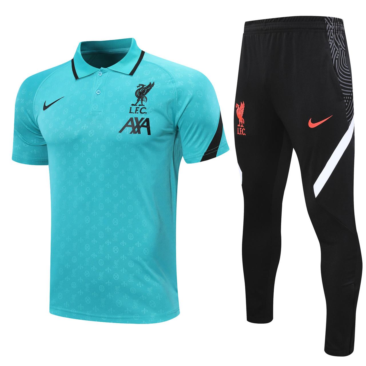 Летний тренировочный костюм Ливерпуль Liverpool 20/21 (4 цвета)