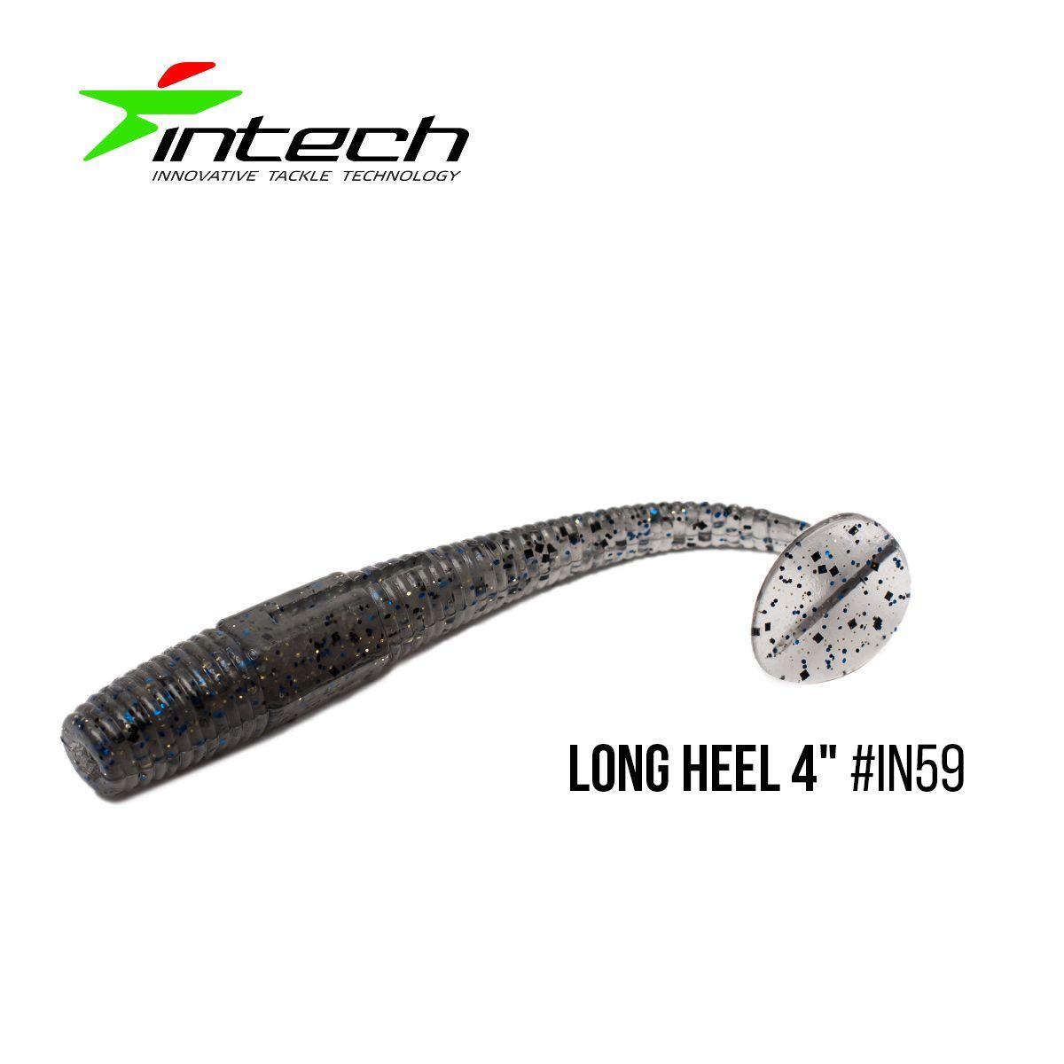 """.Приманка Intech Long Heel 4""(6 шт) (IN59)"