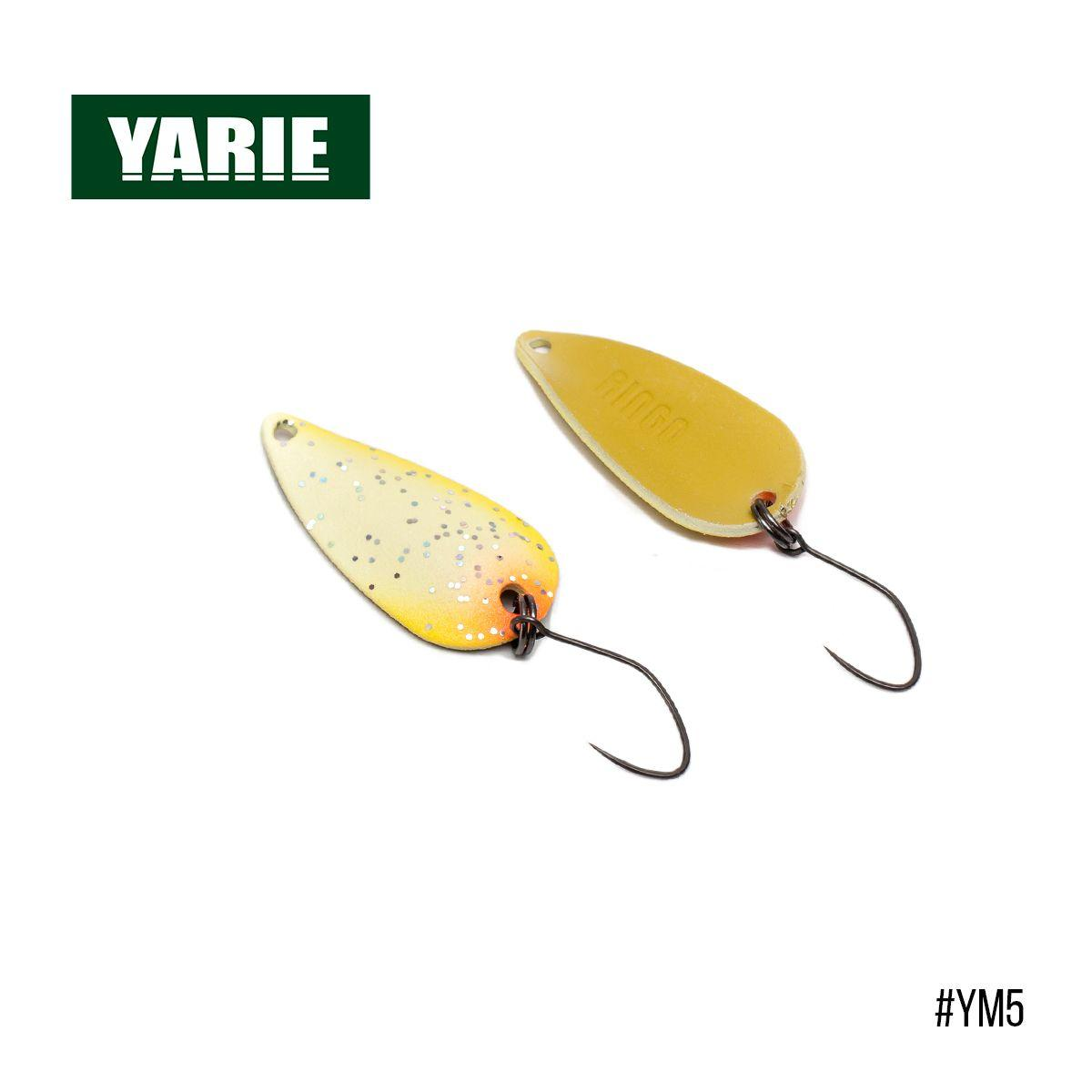 Блесна Yarie Jespa Ringo 30mm 3g (YM5)