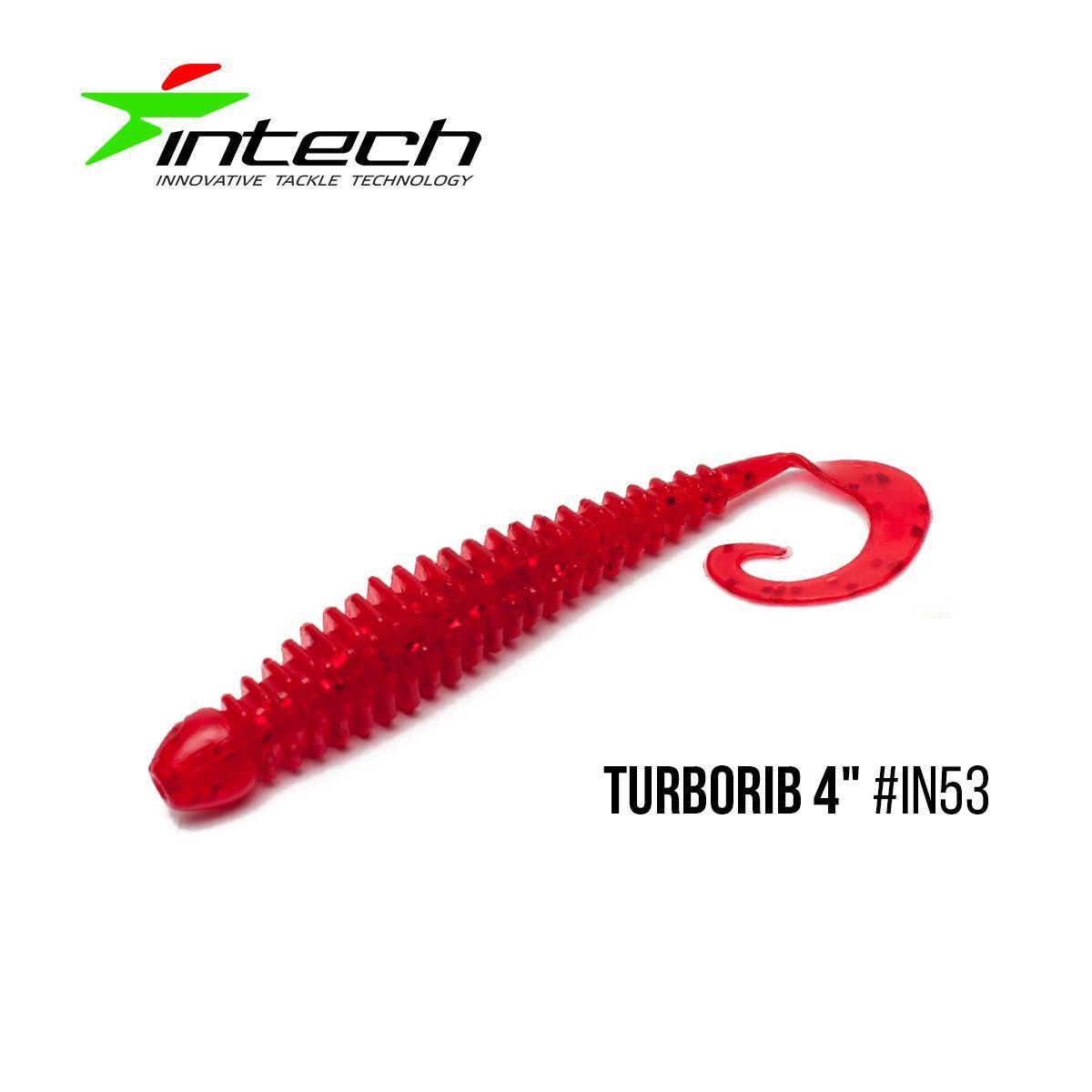 """"""".Приманка Intech Turborib 4""""(5 шт) (IN53)"""