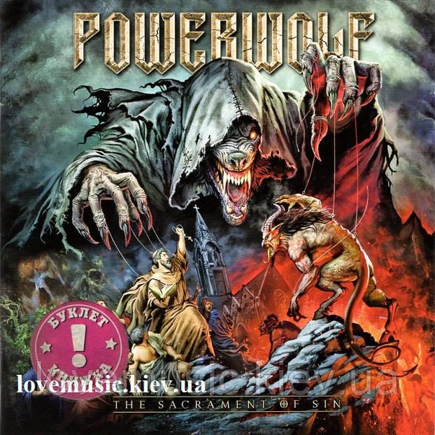 Музичний сд диск POWERWOLF The sacrament of sin (2018) (audio cd)