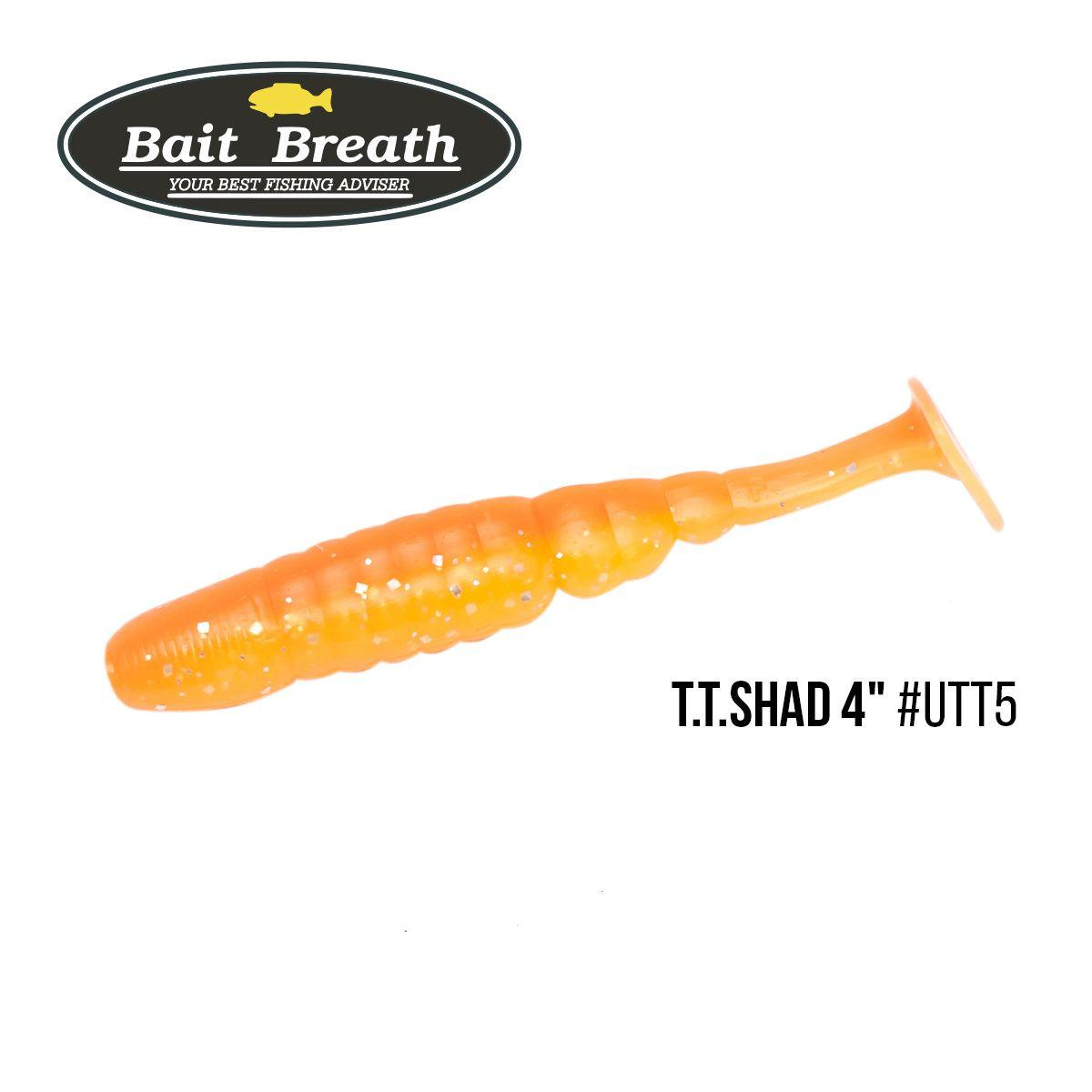 """.Приманка Bait Breath T.T.Shad 4"" (6 шт) (UTT5)"