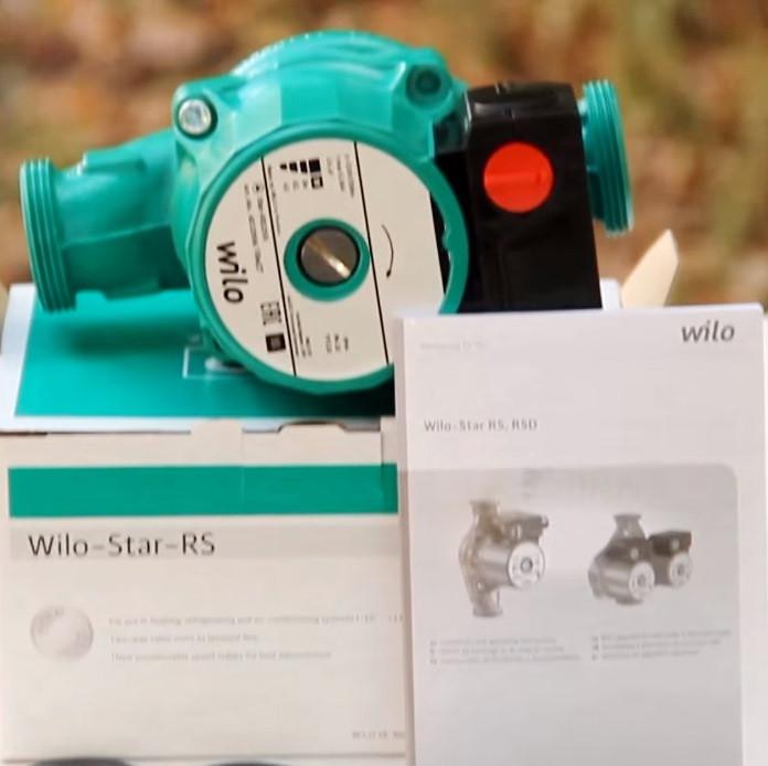 Циркуляционный насос Wilo Star-RS 25/6 180 мм