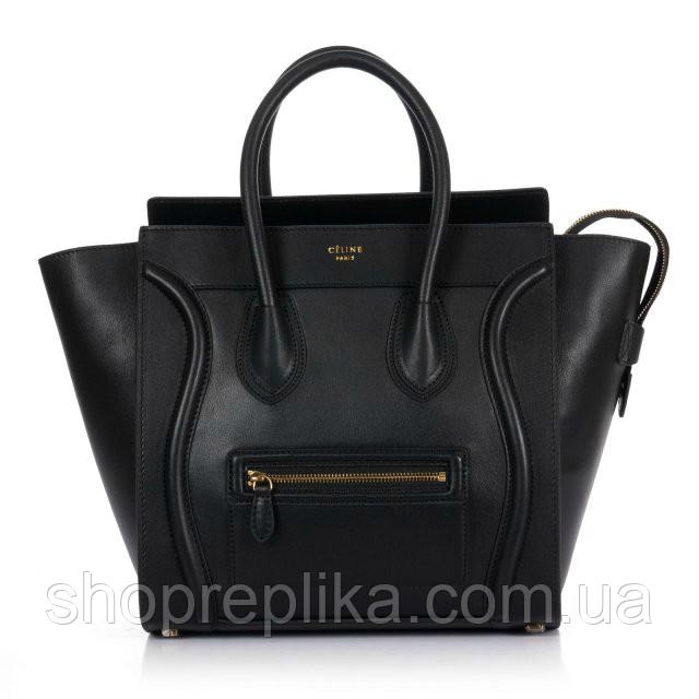 fcb91e8d87aa Сумка реплика Celine Селин черная Турция - Интернет магазин любимых брендов
