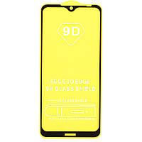 Защитное стекло TDG 9D для Nokia 6.2 Full Glue черный 0,26 мм в упаковке