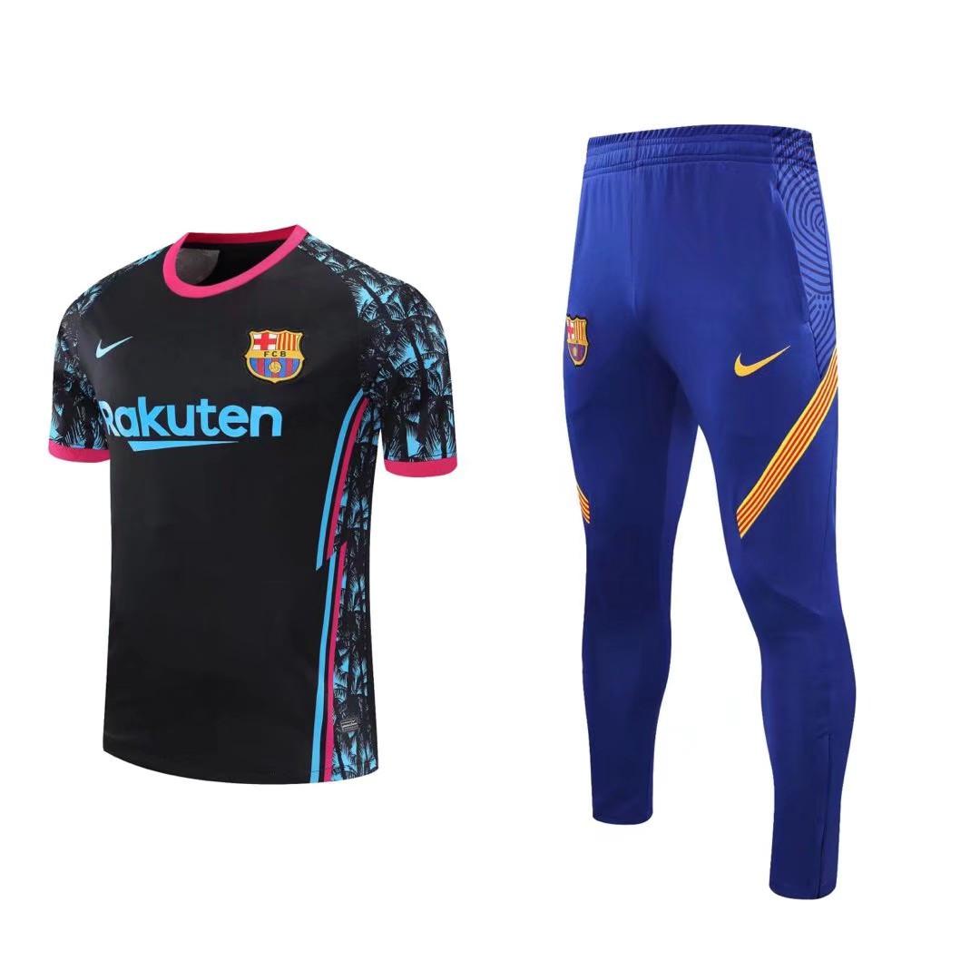 """Летний тренировочный костюм """"Барселона"""" 2020-21"""