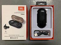 Беспроводные Bluetooth наушники JBL TWS-4, блютуз гарнитура с зарядным кейсом, фото 3