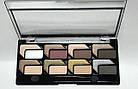 Тіні для повік LA ROSA MATTE & HIGHLIGT EYESHADOW PALETTE 16 кольорів 116-LE № 03 м+п Золотисті-бежеві-сірі, фото 2