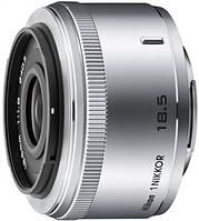 Объектив Nikon 1 NIKKOR 18.5mm f/1.8 Silver, JVA102DC