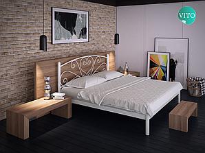 Металлическая кровать Карисса. ТМ Тенеро
