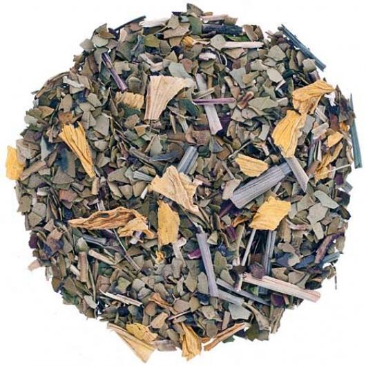 Чай Рассыпной Заварной Мате Мятный крупно листовой Tea Star 250 гр Америка