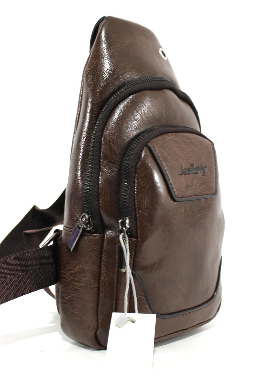 """Чоловіча сумка-слінг через плече, з кожзама """"Baellerry"""" YR 6503"""
