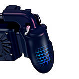 Беспроводной геймпад-триггер для смартфонов Sundy Union PUBG Mobile H5 с вентилятором и АКК, фото 4