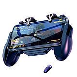 Беспроводной геймпад-триггер для смартфонов Sundy Union PUBG Mobile H5 с вентилятором и АКК, фото 5