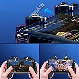 Беспроводной геймпад-триггер для смартфонов Sundy Union PUBG Mobile H5 с вентилятором и АКК, фото 6
