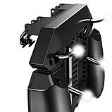 Беспроводной геймпад триггер для смартфонов Union PUBG Mobile AK77 с вентилятором и аккумулятором на 4000 mAh, фото 3