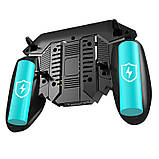 Беспроводной геймпад триггер для смартфонов Union PUBG Mobile AK77 с вентилятором и аккумулятором на 4000 mAh, фото 4