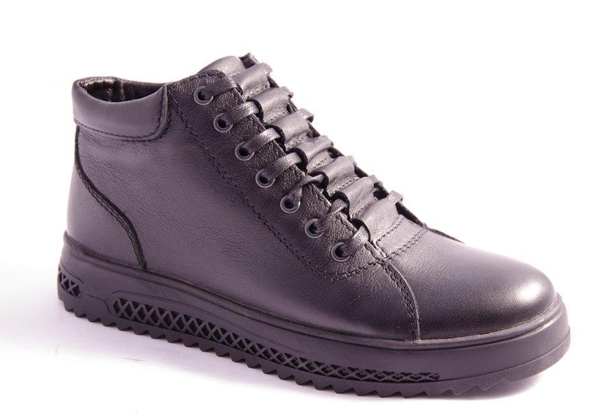 Ботинки мужские черные Vortex 783
