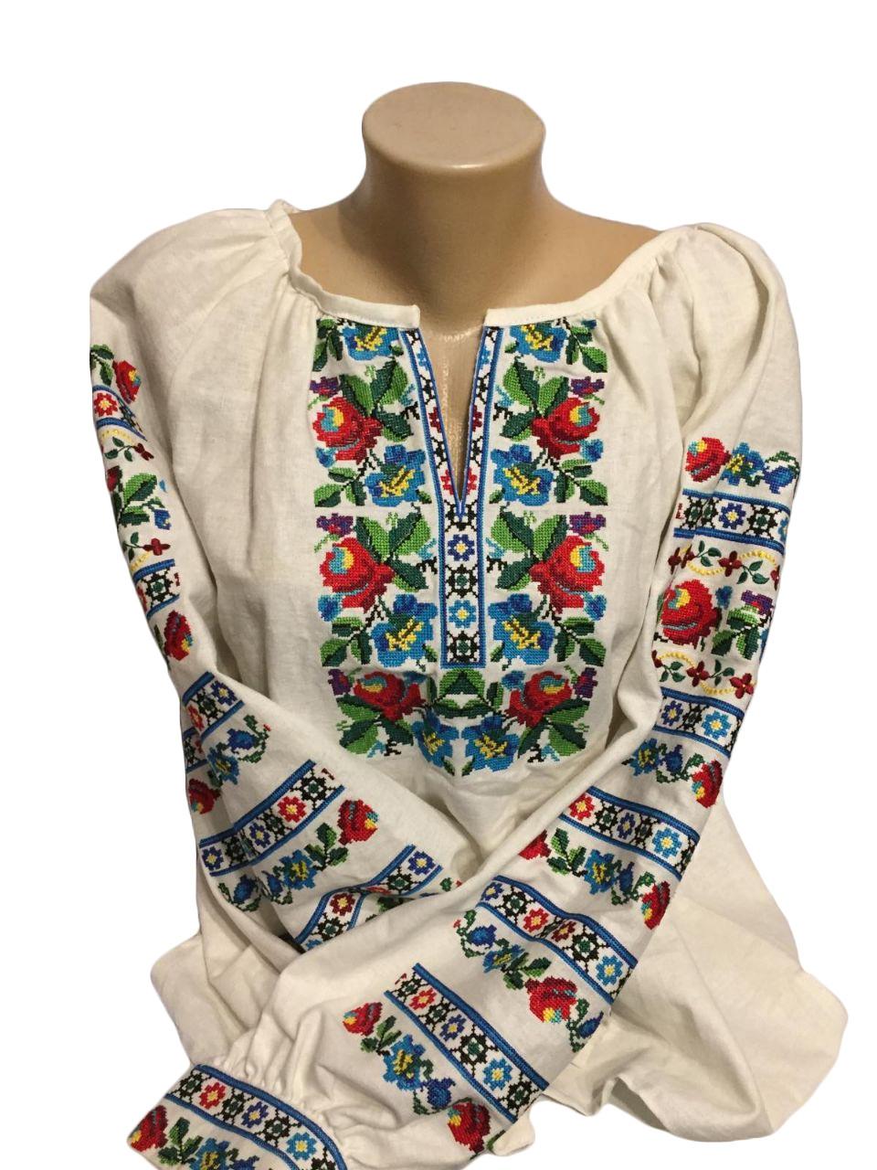 """Женская вышитая рубашка """"Ванесса"""" BM-0006"""