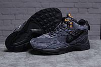 Зимние мужские кроссовки 31312, Nike ZooM Air Span, темно-серые, < 41 42 43 44 45 46 > р. 43-27,8см., фото 1