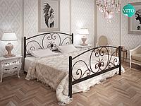 Металлическая кровать Нимфея. ТМ Тенеро