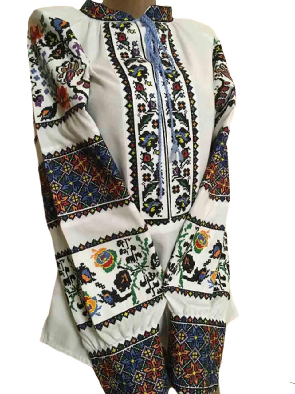 """Женская вышитая рубашка """"Фрида"""" BM-0004"""