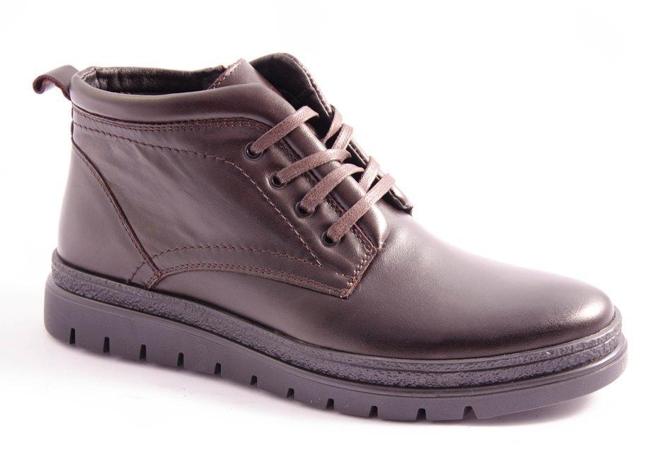 Ботинки мужские коричневые Vortex 786