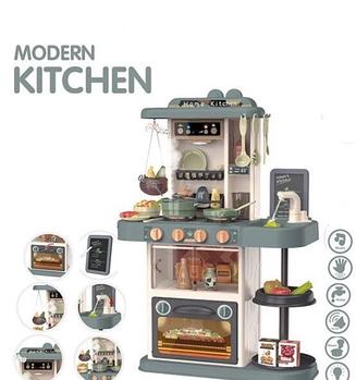 Кухня 889-183 43 предмета, підсвічування, звук Гарантія якості. Швидка доставка.
